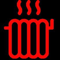 radiator rood